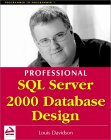 Professional SQL Server 2000 Database Design