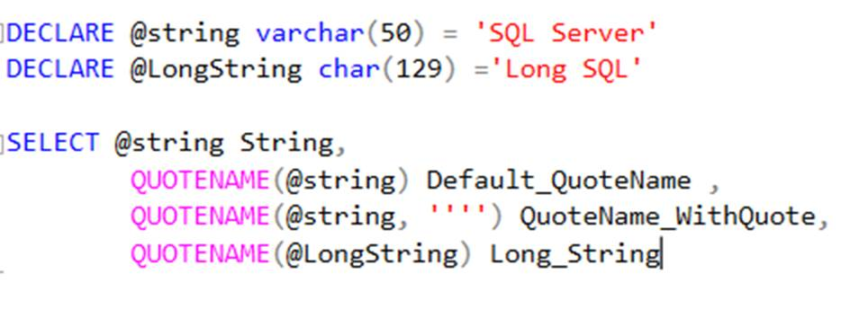sql server find single quote in string To escape single quotes ( ' ) in ms sql all you need to do is add two as wild cards for multiple characters and single character string matching ex select from name_column where name like 'gyan\_sagar' escape '\.